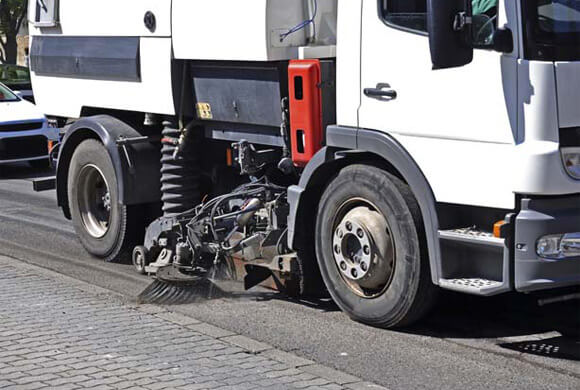 Latest road and car park sweeper