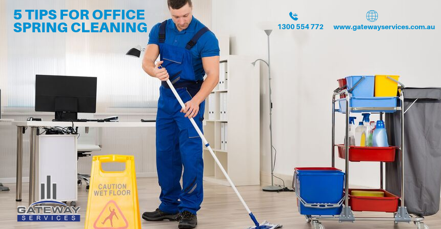 5 Tips for Office Spring Cleaning