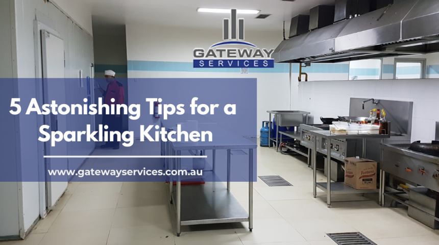 5 Astonishing Tips for a Sparkling Kitchen