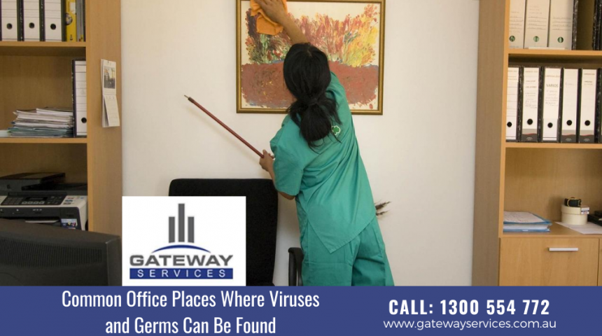 Common Office Places Where Viruses and Germs Can Be Found